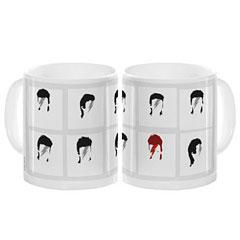 My World David Bowie Contact Sheet Mug « Tazas