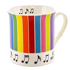 Little Snoring Colourful Mugs - Stripes « Tazas