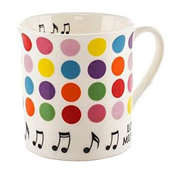 Little Snoring Colourful Mugs - Spots