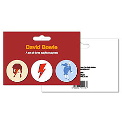My World Set of 3 Magnets - David Bowie « Magnet Pin
