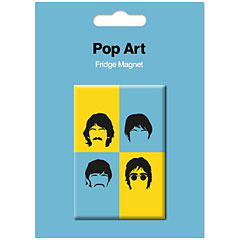 My World Pop Art Magnet - The Beatles « Imán