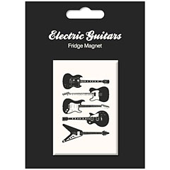 My World Fridge Magnet - Vintage Guitars « Imán