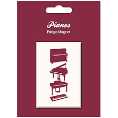 My World Fridge Magnet - Vintage Piano « Imán