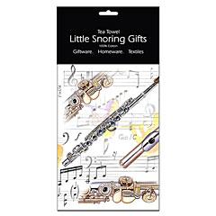 Little Snoring Tea Towel - Flute « Artículos de regalo