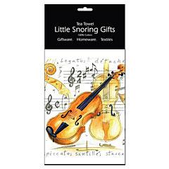 Little Snoring Tea Towel - Violin « Artículos de regalo