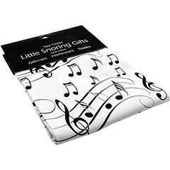 Little Snoring Tea Towel - Black/White Notes « Artículos de regalo
