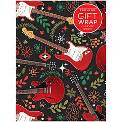 Hal Leonard Gift Wrap - Red Guitar Design « Artículos de regalo