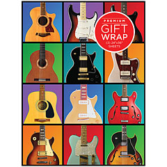 Hal Leonard Gift Wrap - Guitar Retro Design « Gifts