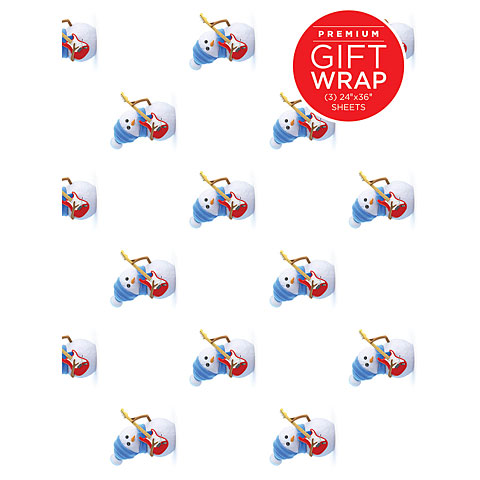 Artículos de regalo Hal Leonard Gift Wrap - Snowman Design