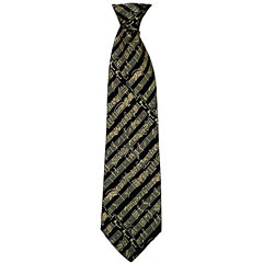 The Music Gifts Company Silk Tie Mozart - Black