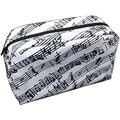 The Music Gifts Company Washbag Manuscript White « Neceser