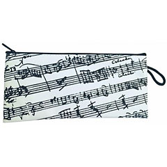 The Music Gifts Company Pencil Case - White Manuscript « Article cadeau
