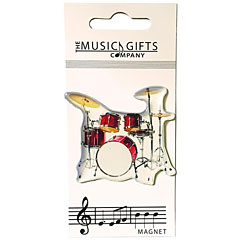 The Music Gifts Company Fridge Magnet - Drum « Imán