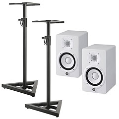 Yamaha HS5 W Stand Bundle « Enceintes actives