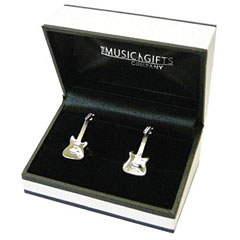 The Music Gifts Company Cufflinks - Electric Guitar « Article cadeau