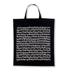 Vienna World Tote Bags - Sheet Music Black « Gifts