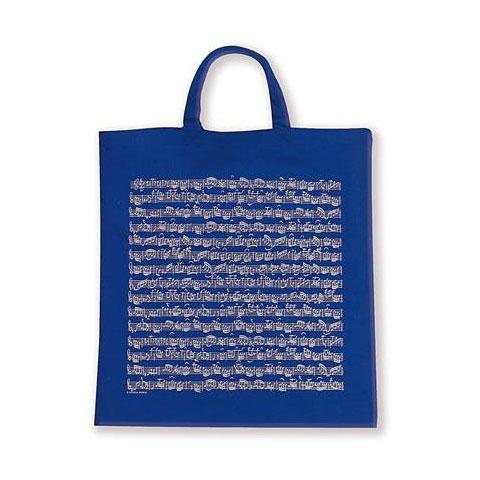 Artículos de regalo Vienna World Tote Bags - Sheet Music Blue
