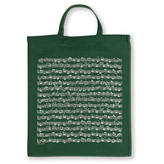Vienna World Tote Bags - Sheet Music Green « Gifts