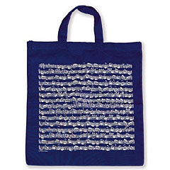 Vienna World Tote Bags - Sheet Music Navy « Gifts