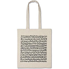 Vienna World Long Handle Bags - Sheet Music White « Gifts