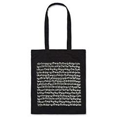 Vienna World Long Handle Bags - Sheet Music Black « Gifts