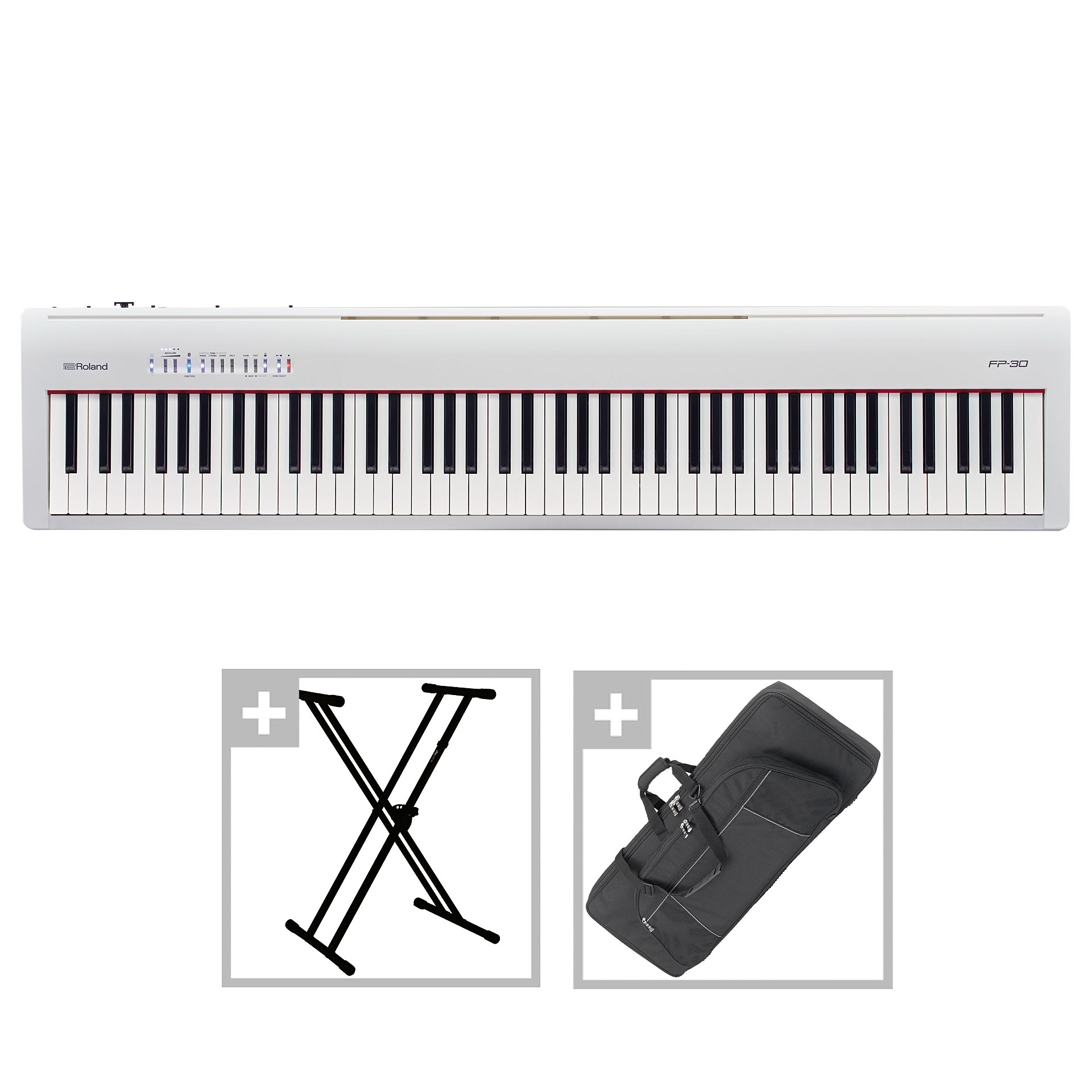 Roland Fp 30 Wh Set Ii 10127328 Stage Piano