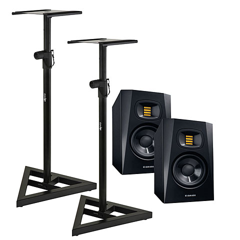Aktiv-Monitor Adam Audio T5V Stand Bundle