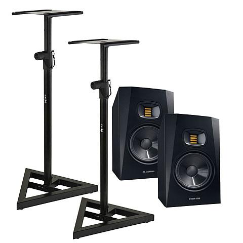 Aktiv-Monitor Adam Audio T7V Stand Bundle