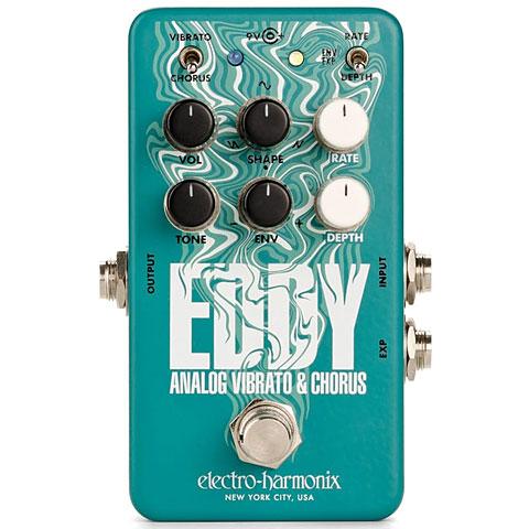 Pedal guitarra eléctrica Electro Harmonix Eddy Analog Vibrato/Chorus