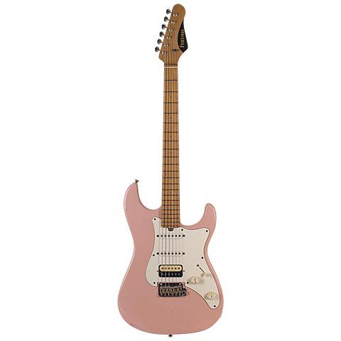 Friedman Vintage-S, Shell Pink, MN , HSS « Guitare électrique