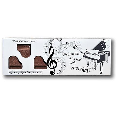 Artículos de regalo Gwynedd Confectioners Belgian Milk Chocolate Box Of Pianos - 8