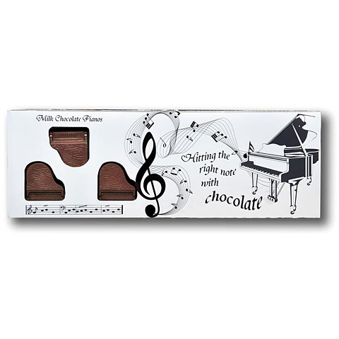 Gifts Gwynedd Confectioners Belgian Milk Chocolate Box Of Pianos - 8