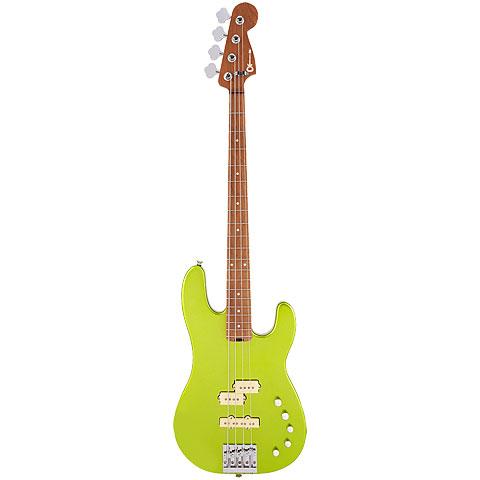Charvel Pro Mod San Dimas PJ IV LIME GRN MET « Electric Bass Guitar
