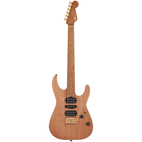 Charvel Pro Mod DK 24 2PT NAT MAH « Electric Guitar