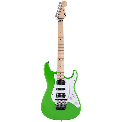Charvel Pro Mod So-Cal 3 HSH FR SLIME GREEN « E-Gitarre
