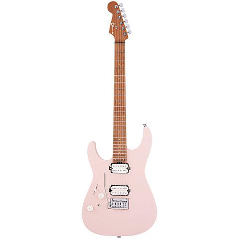 Charvel DK24 HH 2PT LH CM Satin Shell Pink « Guitare gaucher