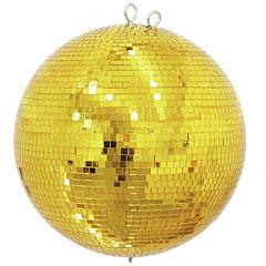 Eurolite Mirror Ball 40cm gold « Spiegelbal