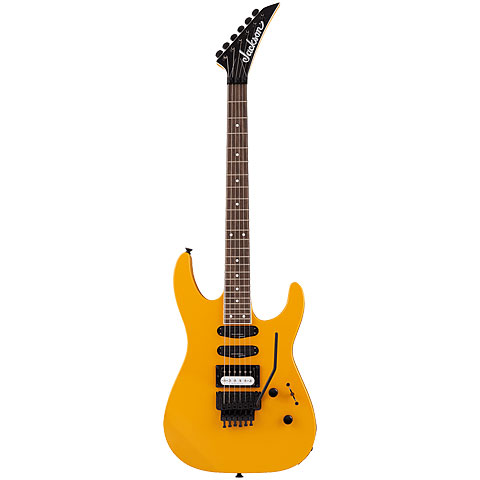 Jackson Soloist SL1 DX Throwback Taxi Cab Yellow « Electric Guitar