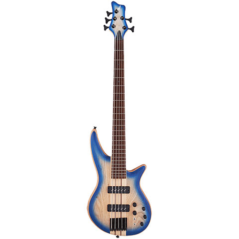 Jackson Pro Series Spectra V NT Blue Burst « Electric Bass Guitar