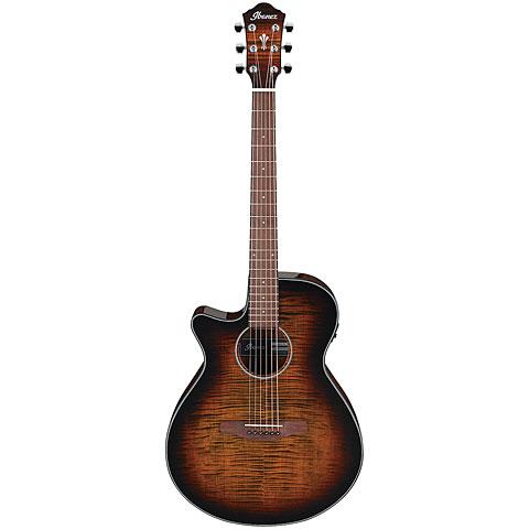 Westerngitarre Lefthand Ibanez AEG70L-TIH