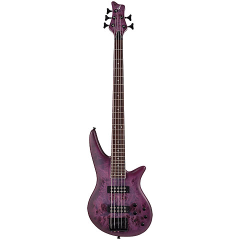 Jackson X Series Spectra SBX V Purple Burst « E-Bass