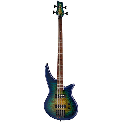 Jackson X Series Spectra SBX IV Amber Blue Burst « Electric Bass Guitar