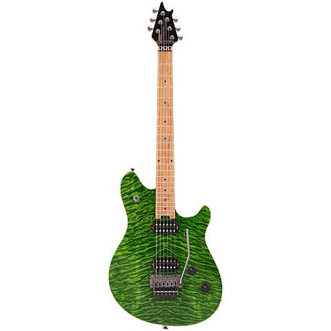 E-Gitarre EVH Wolfgang Standard QM Tramsparent Green
