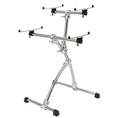 Gibraltar Double Tier Keyboard Stand