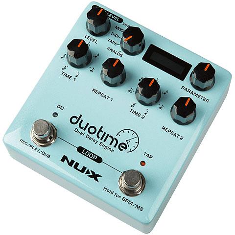 Effets pour guitare électrique NUX NDD-6 Duotime