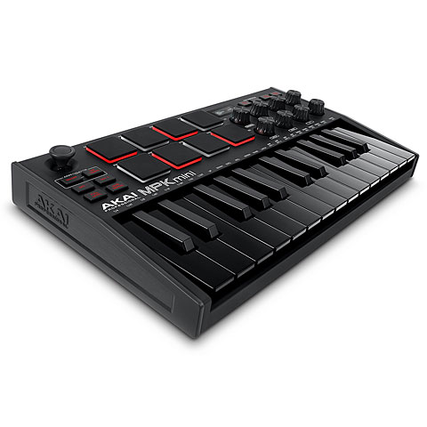 Master Keyboard Akai MPK Mini MK3 Black