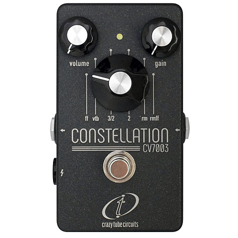 Pedal guitarra eléctrica Crazy Tube Circuits Constellation CV7003 limited Edition