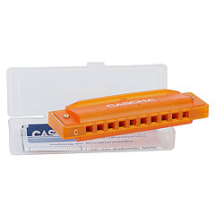 Cascha Fun Blues Harp in C Orange