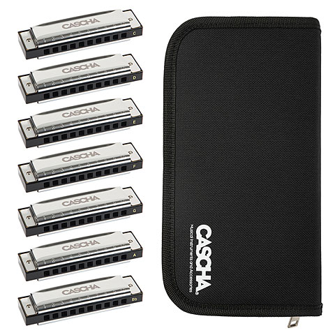 Armónica mod. Richter Cascha Blues Harmonica Set (7-Pack)