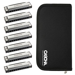 Cascha Blues Harmonica Set (7-Pack) « Armónica mod. Richter